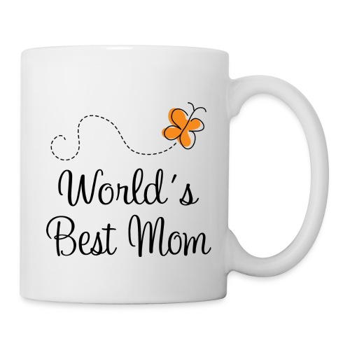 World's Best Mom Mug - Coffee/Tea Mug