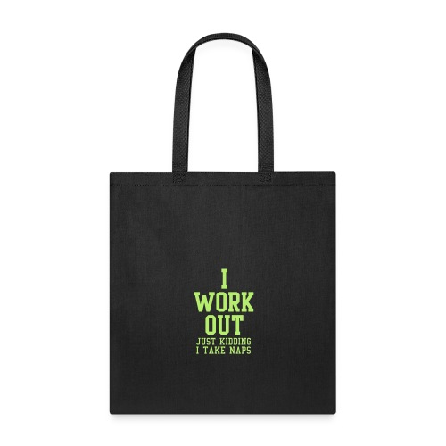 Don't like to work out - Tote Bag