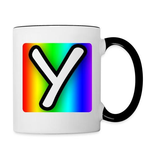 YHR Rainbow Mug - Contrast Coffee Mug