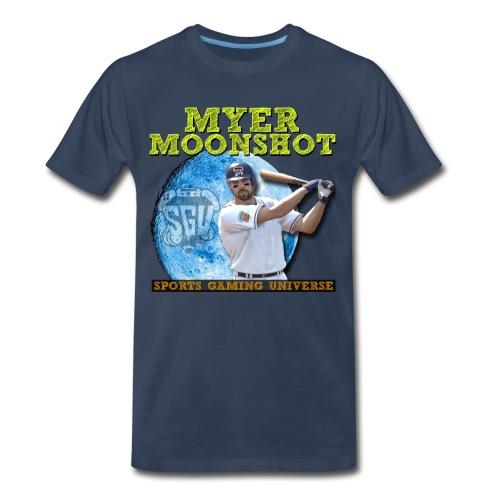 Myer Moonshot Tee Premium - Men's Premium T-Shirt