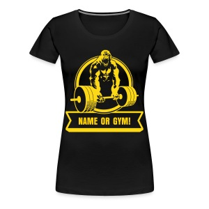 Gorilla Beast - YOUR NAME - Women's Premium T-Shirt