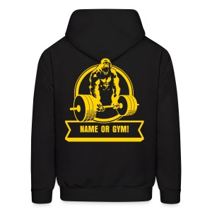 Gorilla Beast - YOUR NAME - Men's Hoodie