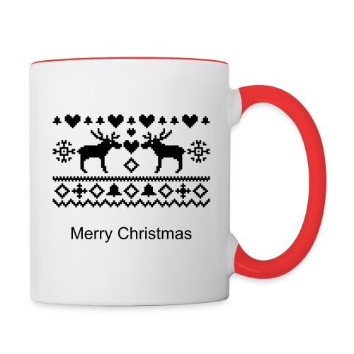 Christmas Mugs - Contrast Coffee Mug