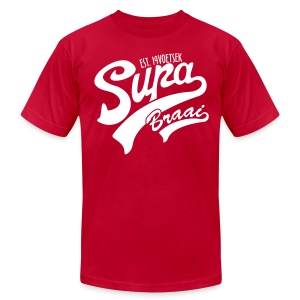 Supa Braai 2 - Men's T-Shirt by American Apparel