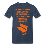 T-Shirts ~ Men's Premium T-Shirt ~ Sitting on the bench Tee