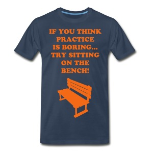 Sitting on the bench Tee - Men's Premium T-Shirt