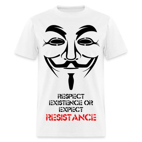 RESISTANCE MEN'S SHIRT - Men's T-Shirt