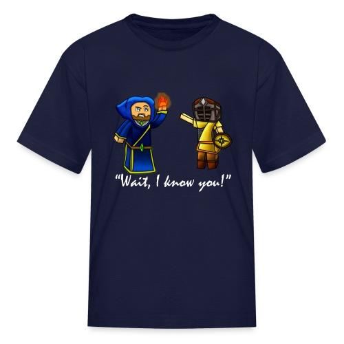 Tyan in Skyrim - Kids' T-Shirt