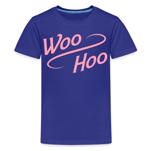 woo_hoo - Kids' Premium T-Shirt