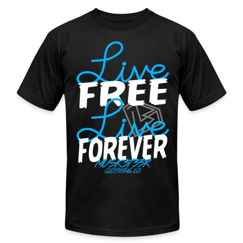 Free || Forever (High Quali-Tee) - Men's  Jersey T-Shirt