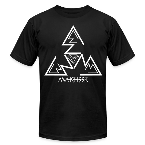 Threes (White Print) - High Quali-Tee - Men's Fine Jersey T-Shirt