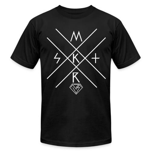 MSKTRx (White Print) - High Quali-Tee - Men's Fine Jersey T-Shirt