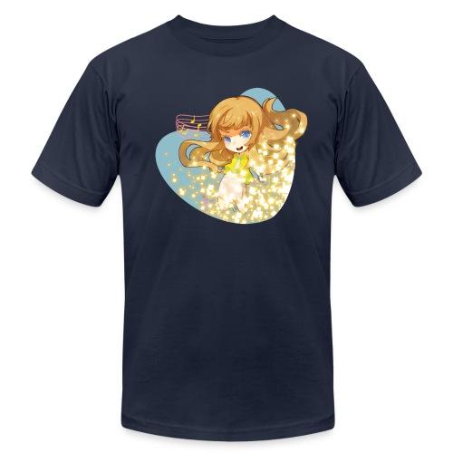 LeeandLie Shirt (Blue) - Men's Fine Jersey T-Shirt