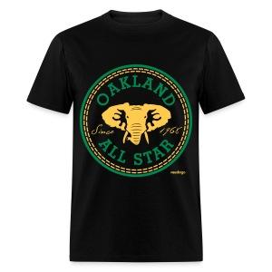Oakland All Star Black - Men's T-Shirt