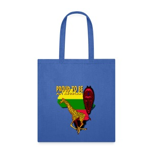 Proud To Be An African Canvas Tote Bag - Tote Bag