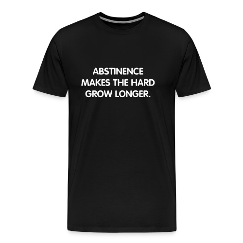 Abstinence - Men's Premium T-Shirt