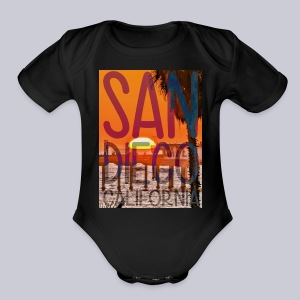 Big OB SD - Short Sleeve Baby Bodysuit