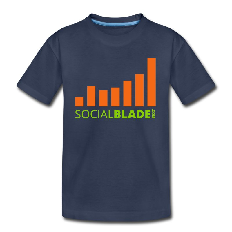 Social Blade Orange Toddler Premium T-Shirt - Toddler Premium T-Shirt