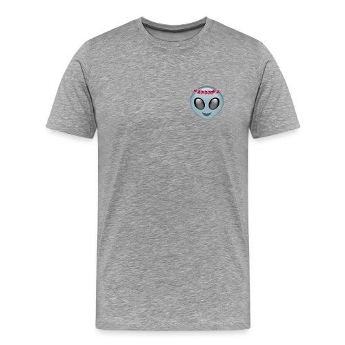 Flower Crown Alien - Men's Premium T-Shirt