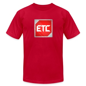 ETC Logo Tee  - Men's T-Shirt by American Apparel