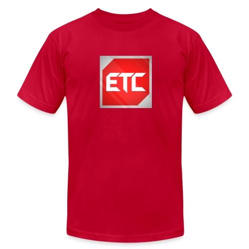 ETC Logo Tee  - Men's Fine Jersey T-Shirt