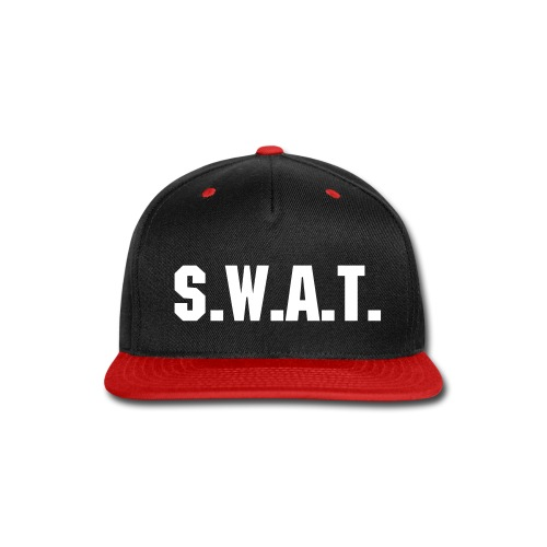 SWAT hat - Snap-back Baseball Cap
