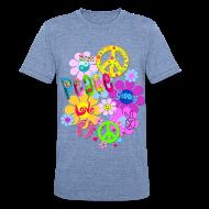 T-Shirts ~ Unisex Tri-Blend T-Shirt ~ Hippie
