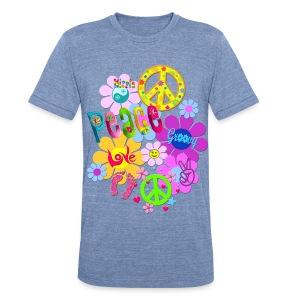 Hippie - Unisex Tri-Blend T-Shirt