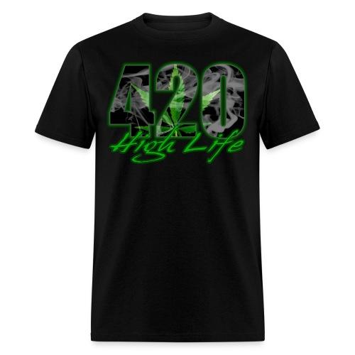 420 High Life Shirt - Men's T-Shirt