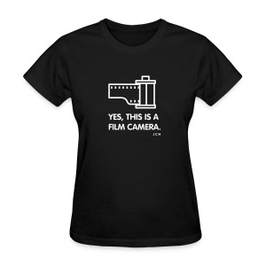 Yes, this is a Film Camera. Ladies - Women's T-Shirt