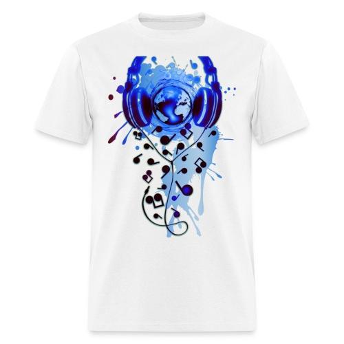World Of Music - Men's T-Shirt