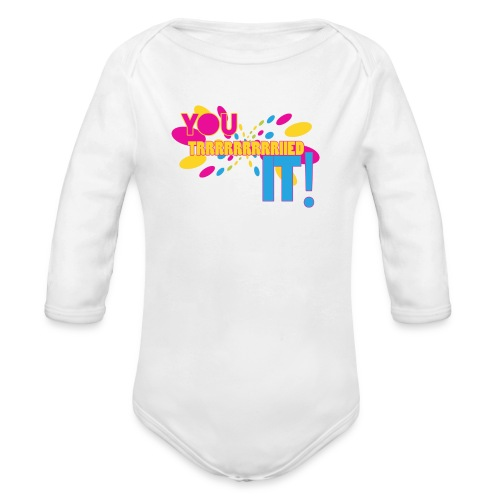 You Tried It - Organic Long Sleeve Baby Bodysuit