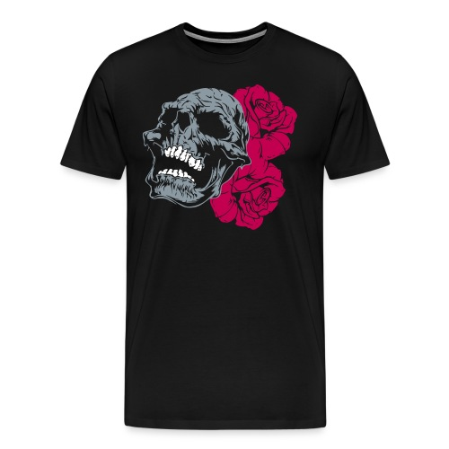 skull tattoo - Men's Premium T-Shirt