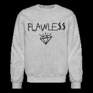 Long Sleeve Shirts ~ Men's Crewneck Sweatshirt ~ FLAWLESS - Unisex Crewneck