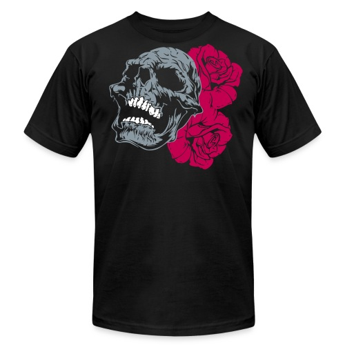 skull tattoo - Men's  Jersey T-Shirt