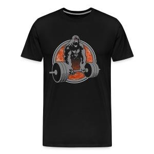 Gorilla Beast - COLOR - Men's Premium T-Shirt