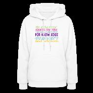 Hoodies ~ Women's Hoodie ~ Womens Size Educator Hoodie