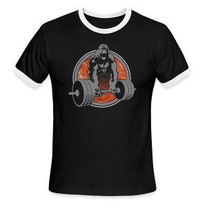Gorilla Beast - COLOR - Men's Ringer T-Shirt