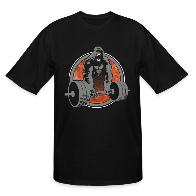 Gorilla Beast - COLOR - Men's Tall T-Shirt