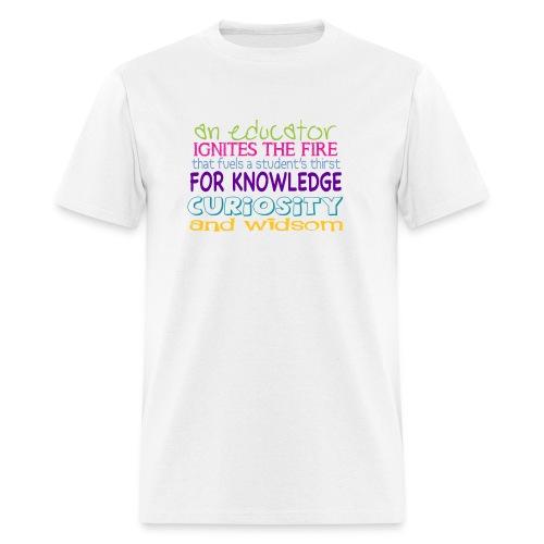 Mens Size Educator Shirt - Men's T-Shirt