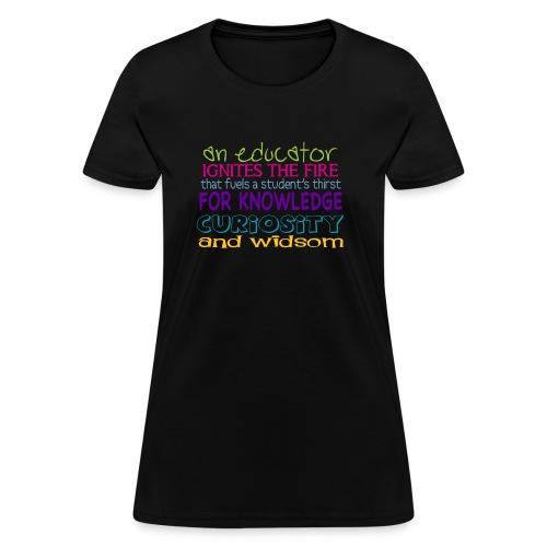 Womens Size Educator Shirt - Women's T-Shirt