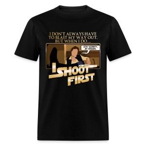 Han I Shoot First - Men's T-Shirt