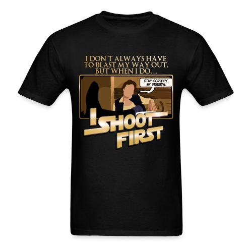 Han I Shoot First - Men's T-Shirt