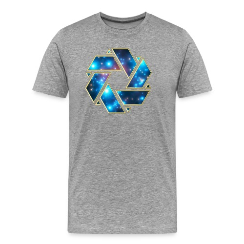 Galaxy Mobius // Tee - Men's Premium T-Shirt