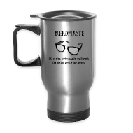 Mugs & Drinkware ~ Travel Mug ~ Nerdmaste Travel Mug