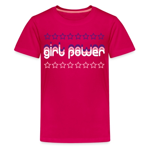 Girl Power Premium Kids' T-Shirt - Kids' Premium T-Shirt