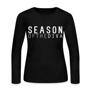 Season of the Diva Long Sleeve Tee - Women's Long Sleeve Jersey T-Shirt