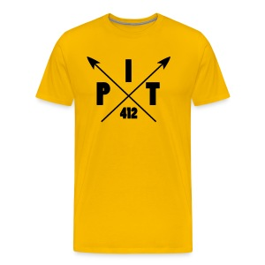 Pittsburgh Arrow T-Shirts - Men's Premium T-Shirt
