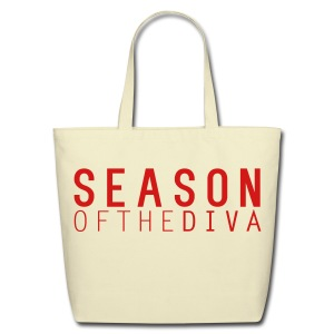 Season of the Diva Tote Bag - Eco-Friendly Cotton Tote