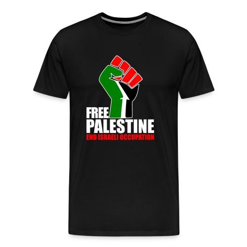 Sample WUth GAZA T-shirt - Men's Premium T-Shirt